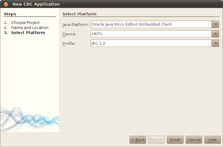 The Java platform you just added is in the list. Click Close