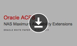 Oracle ACFS NAS MAX Extensions