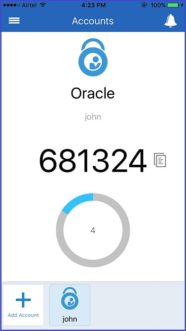 Exploring-Oracle-Mobile-Authenticator