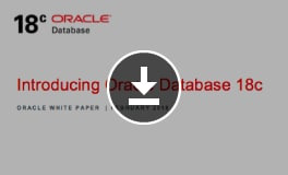 白皮书:Oracle Database 18c 简介