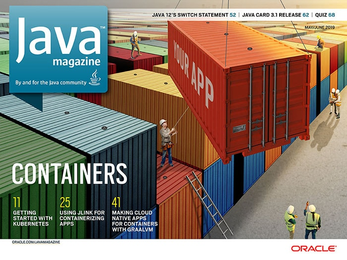 Java Magazine Cover Image May - June 2019