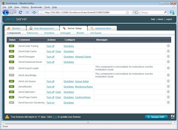 Integrate PHP and Java Applications with Oracle WebLogic