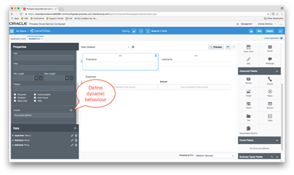 Oracle Process Cloud Service: New Feature