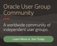 Oracle User Group Community