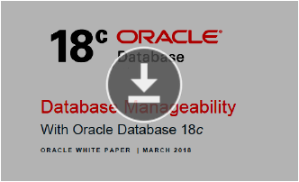 White Paper: Database Manageability