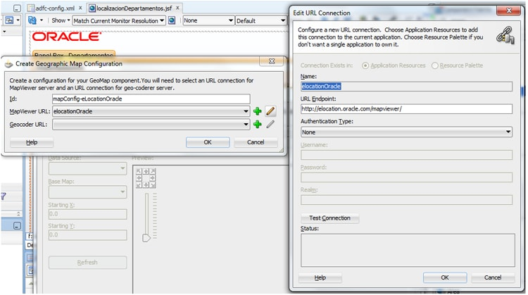 Tutorial ADF 11g con Oracle MapViewer