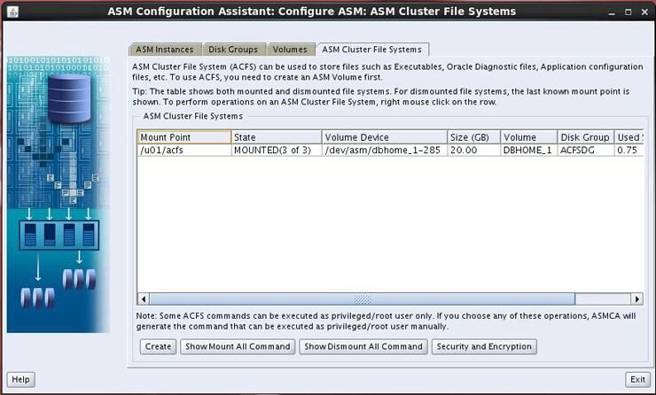 Arquitectura y Setup de FileSystems ACFS en Oracle 12c (12.1.0.2.0 ...
