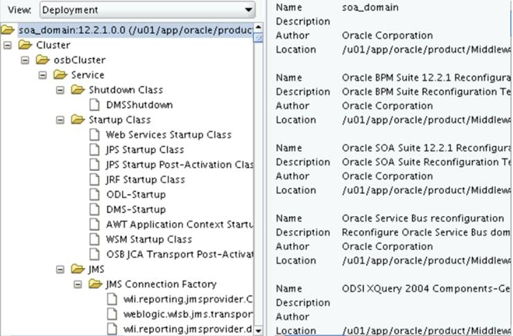Actualización de dominio de Oracle SOA Suite 12c - Parte 2