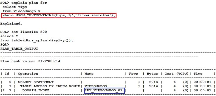 Manejando Json En Oracle Database 12c