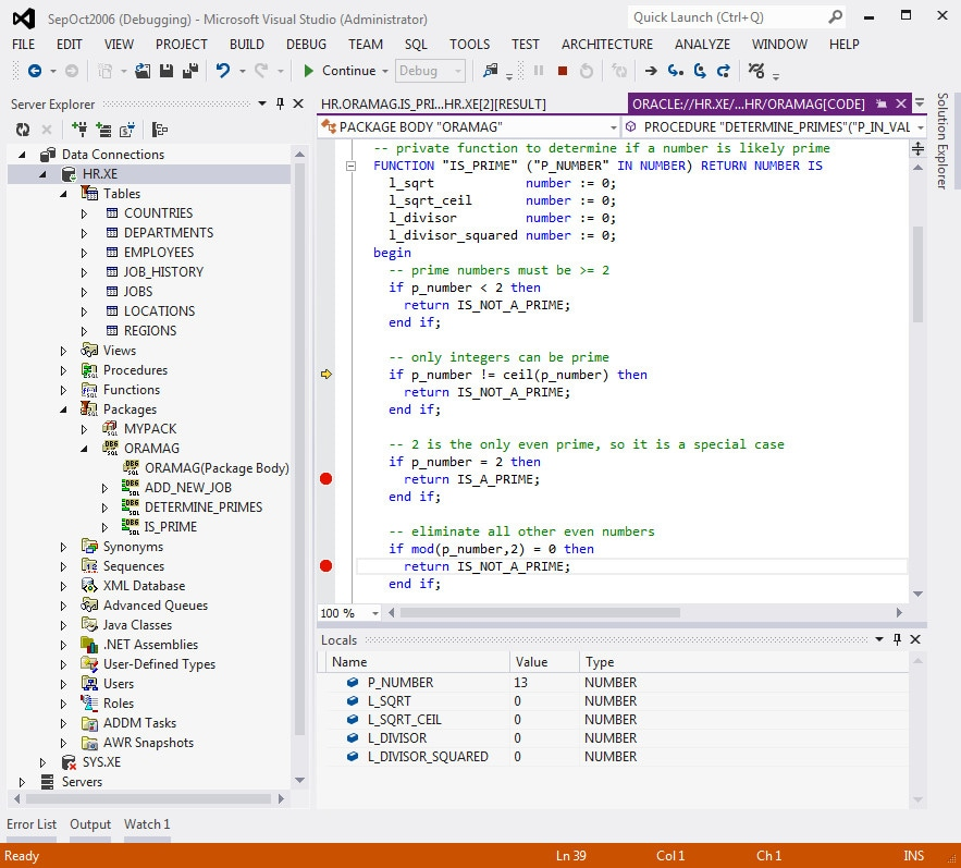 Oracle Developer Tools for Visual Studio 2015 - Visual Studio Marketplace