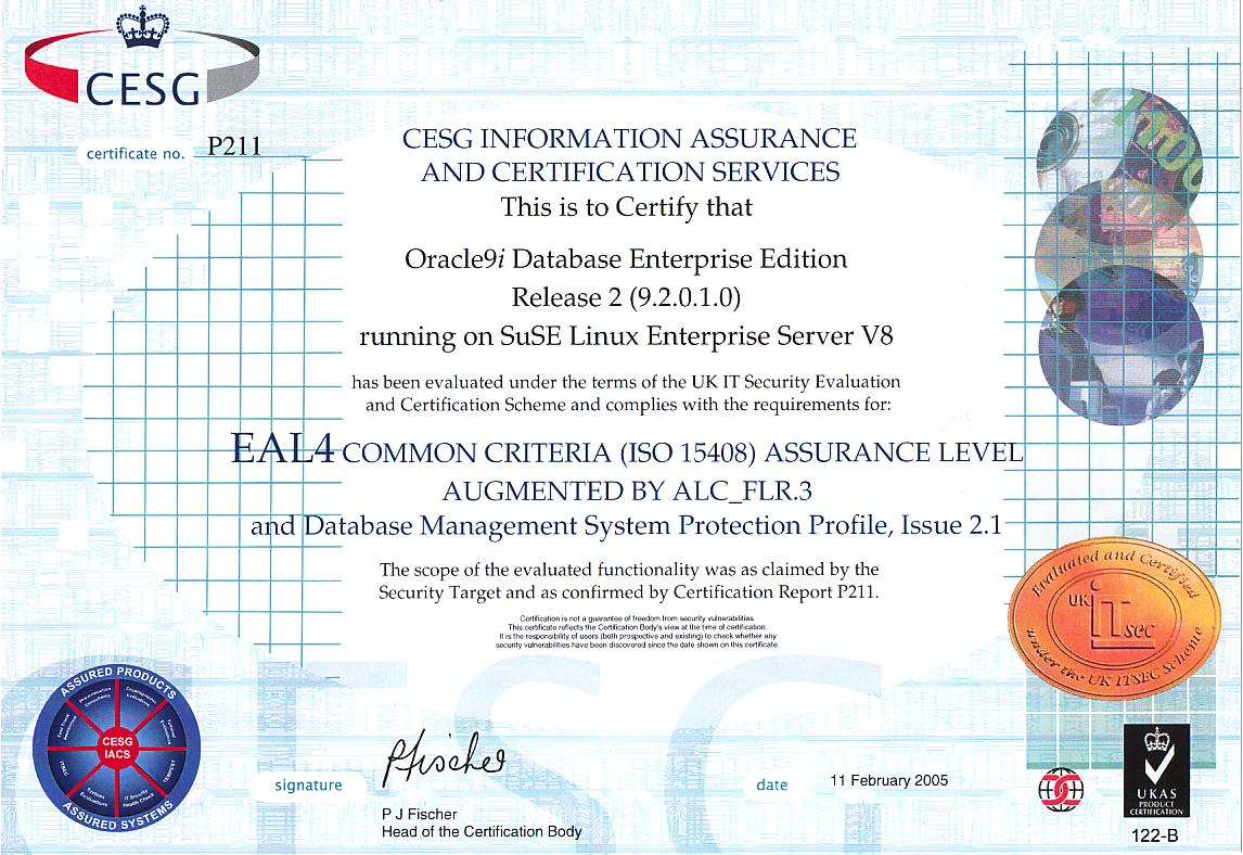 Cc evaluated security certificate xflitez Gallery