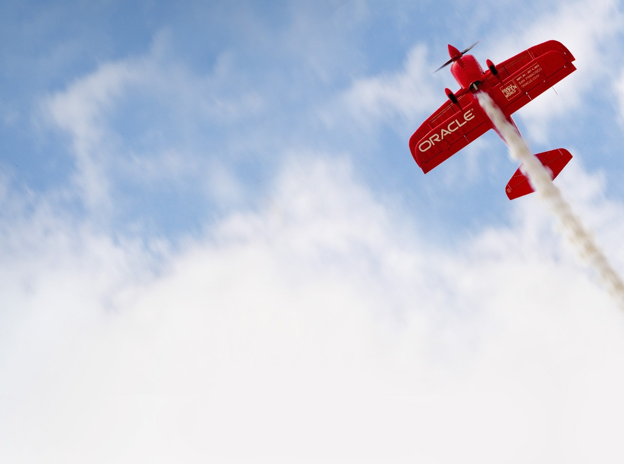Air Show Schedule for Team Oracle | Oracle