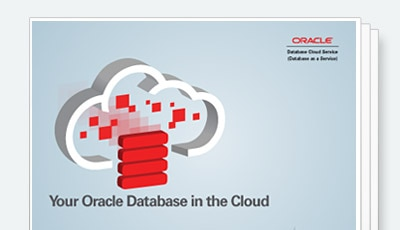 Oracle Database in the Cloud ebook