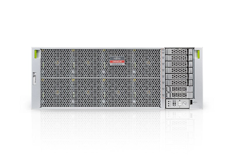 Fujitsu M12-2S Server front left angle view