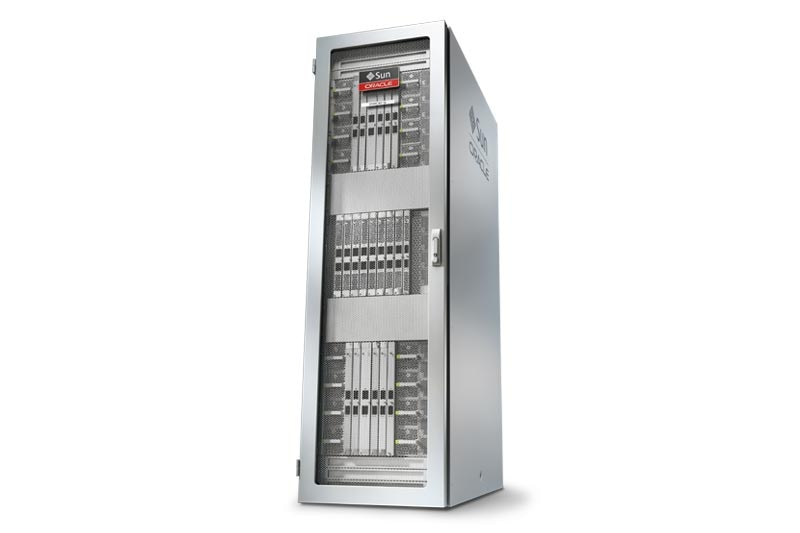 Oracle's SPARC M7-8 Server front left view