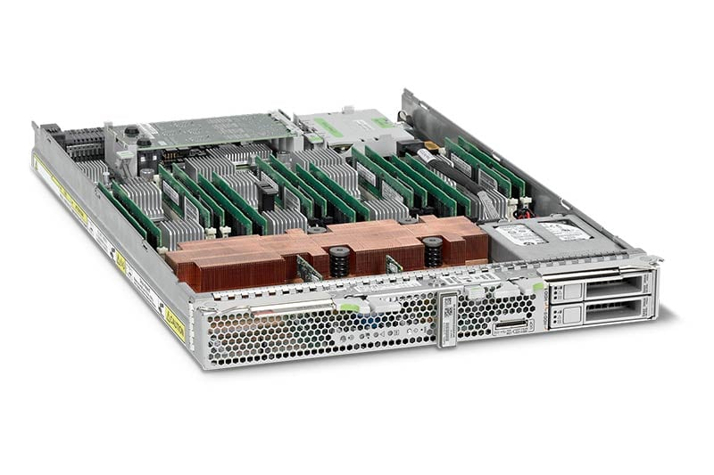 SPARC T5-1B Server Module top left angle view