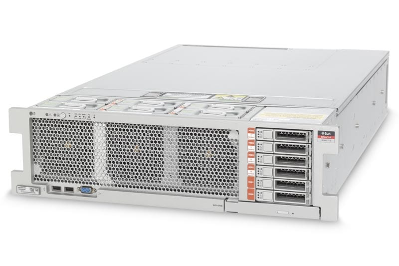 SPARC T7-2 Server front view