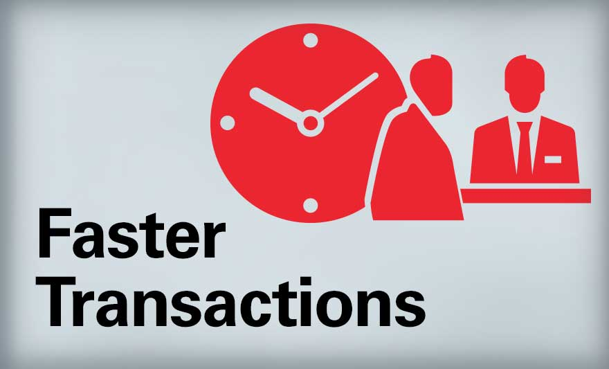 Faster Transactions
