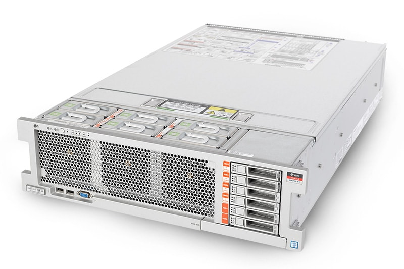 Oracle Exalytics In-Memory Machine X6-4 front view