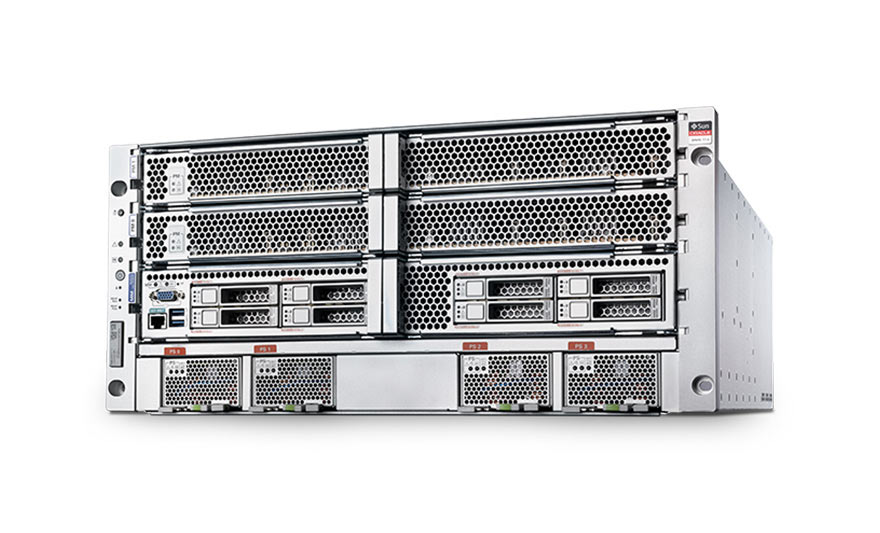 SPARC T7-4 Server front view