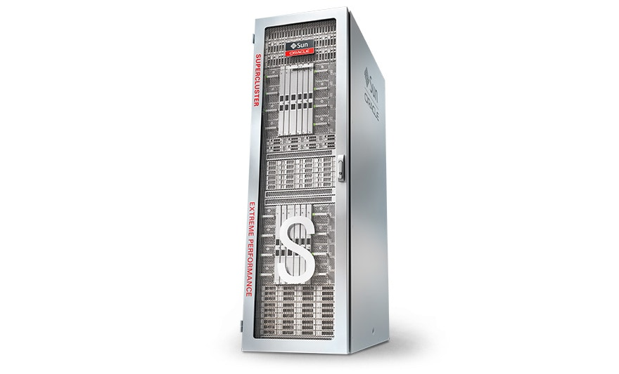 Oracle SuperCluster M7, hero shot