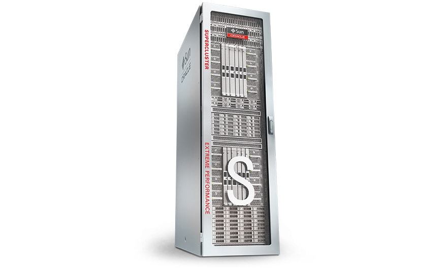 Oracle SuperCluster M7, front left side view