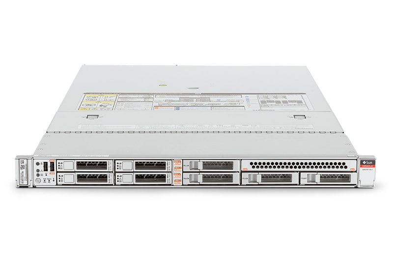 Oracle Server X6-2 front view