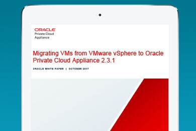 Migrate VM workloads from VMware to Private Cloud Appliance