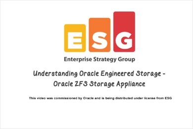 Video sul valore di Oracle ZFS Storage Appliance