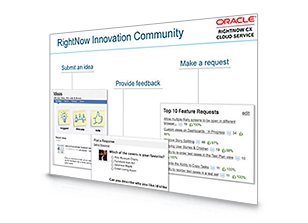Oracle RightNow Social Experience Innovation Community