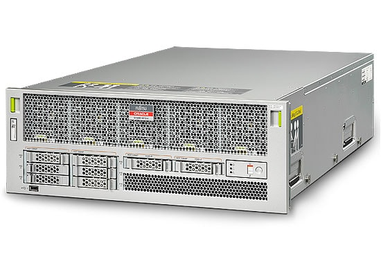 Fujitsu M10-4 Server front right angle view