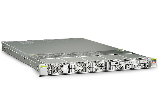Fujitsu M10-1 Server front left angle view