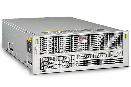 Fujitsu M10-4 Server front left angle view
