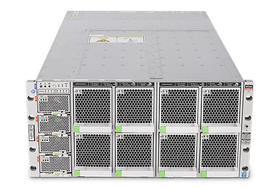 Oracle Server X4-8 top front view