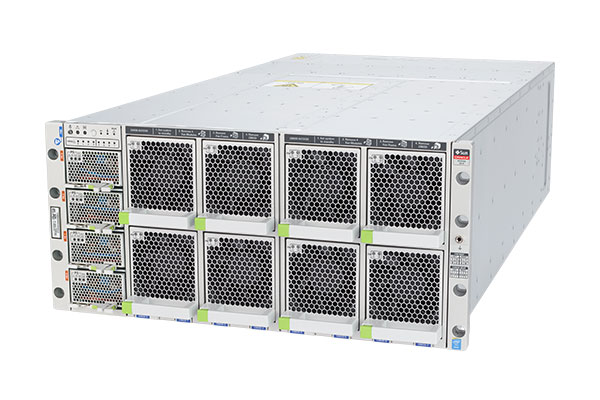 Oracle Server X5-8 left side view