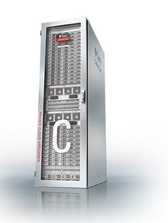 Private Cloud Appliance left front view