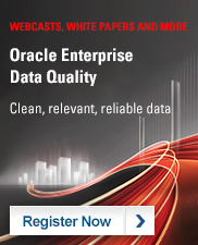 Oracle Enterprise Data Quality: Clean, relevant, reliable data