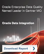 Oracle Enterprise Data Quality Named Leader in Gartner MQ