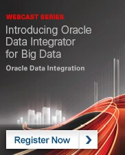Webcast Series: Introducing Oracle Data Integrator for Big Data