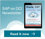 Download the SAP on OCI Newsletter here