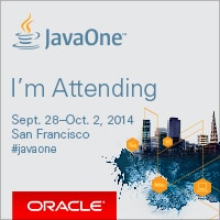attending  Java One 2014 San Francisco