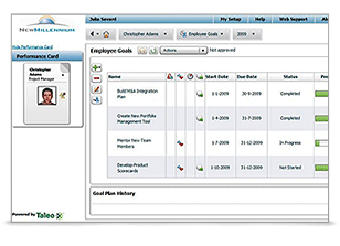 Oracle Taleo Goals Management Cloud Service