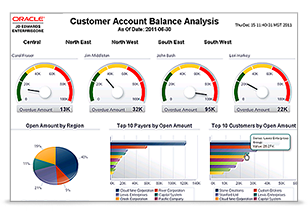 JD Edwards EnterpriseOne One View Reporting