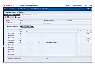 JD Edwards EnterpriseOne Product Variants