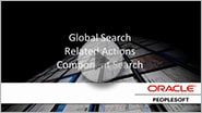 Effortless Navigation with Global Search, Related Actions, Component Search
