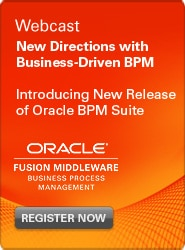 BPM Webcast: New Directions with Business-Driven BPM
