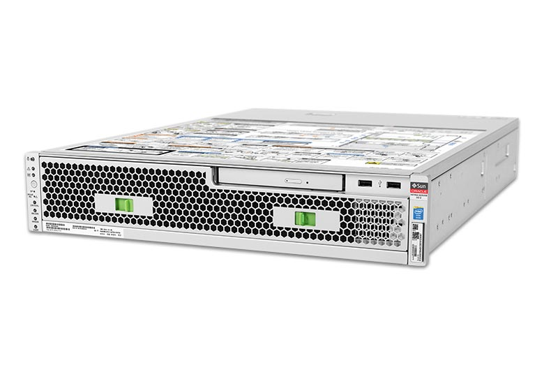 Netra Server X5-2, front, top right view