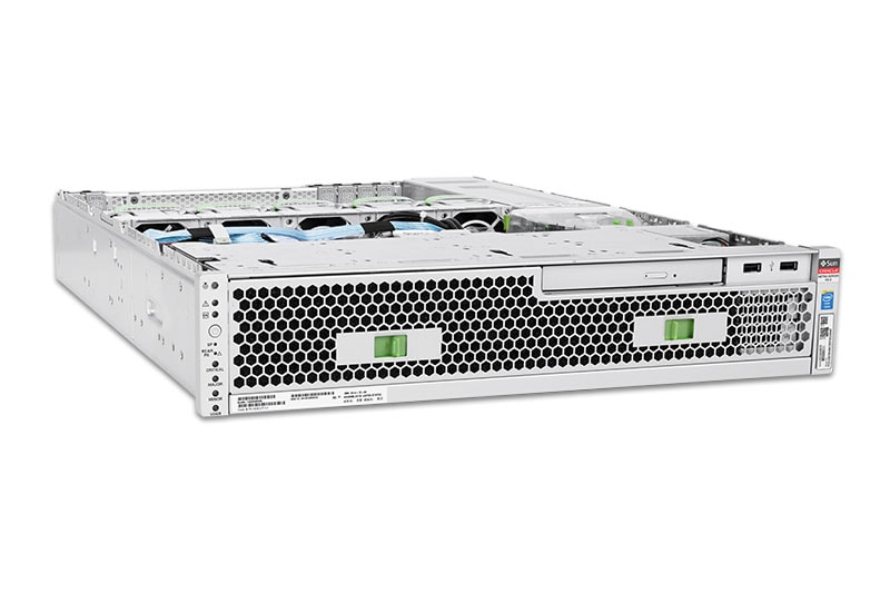 Netra Server X5-2, front, top left view
