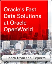 Webcast: Oracle's Fast Data Solutions at Oracle OpenWorld
