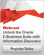 Unlock the Oracle E-Business Suite with Information Discovery